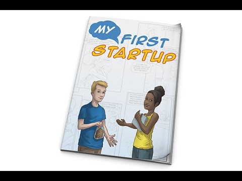 My First Startup - comic book for kids about entrepreneurship