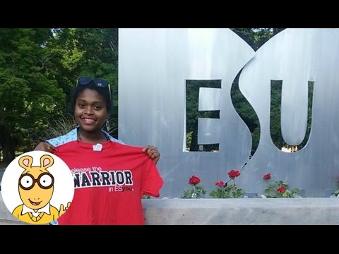 JAMARA'S GOING TO COLLEGE!!! East Stroudsburg University - Vlogz