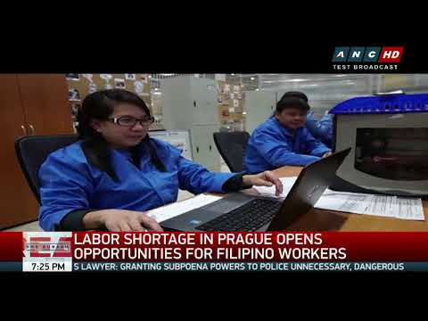 Prague needs 300 industrial workers, to hire 1,000 Pinoys by yearend
