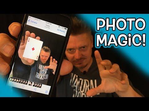 How to do MAGIC Camera TRICKS with Phone Photos!!