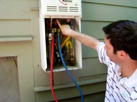 Maintaining A Tankless Water Heater Part 2 Pre Filter