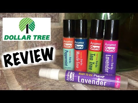 Dollar Tree Review Essential Oils  | Yes These Are !!