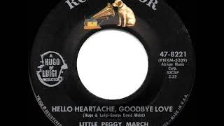 1963 HITS ARCHIVE: Hello Heartache, Goodbye Love - Little Peggy March YouTube Videos