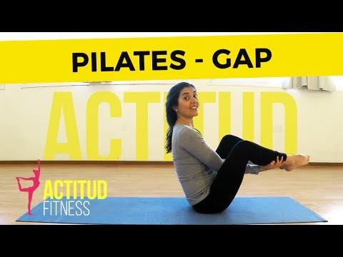 Pilates para levantar glúteos, bajar abdomen y tonificar piernas  ♥ Día3 pilates en Español