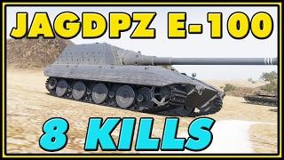 World of Tanks | Jagdpanzer E-100 - 8 Kills - 9.1K Damage