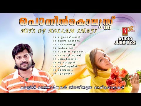 Ponnin kolussu|Kollam shafi hits|മാപ്പിളപ്പാട്ടുകൾ |Selected Super hit Mappila Album Songs