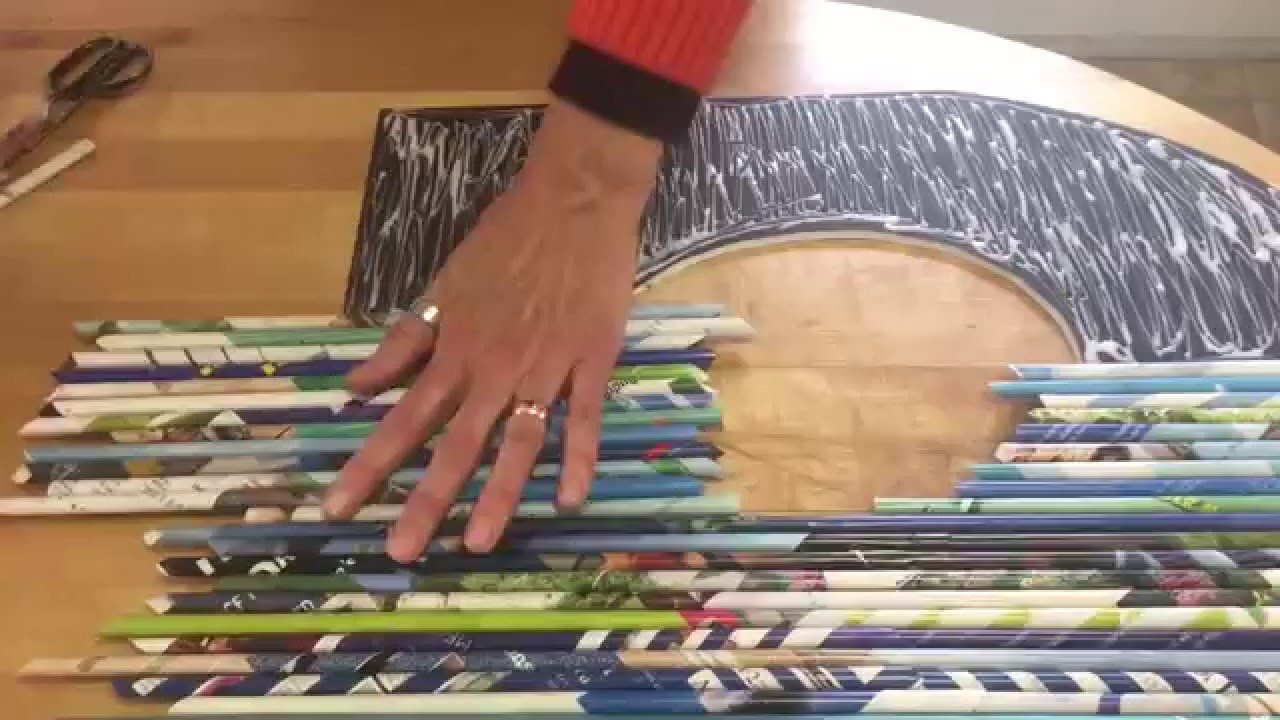 Rolled Paper Art - YouTube