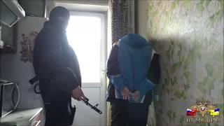 Как задерживали члена ОПГ в Улан-Удэ