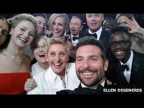 Oscars 2014 Selfie breaks Twitter record