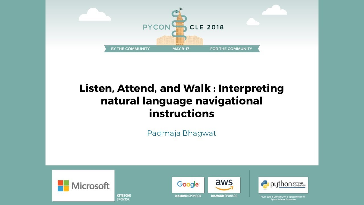 Image from Listen, Attend, and Walk : Interpreting natural language navigational instructions