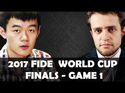 2017 World Cup Finals Game 1: Levon Aronian vs Ding Liren