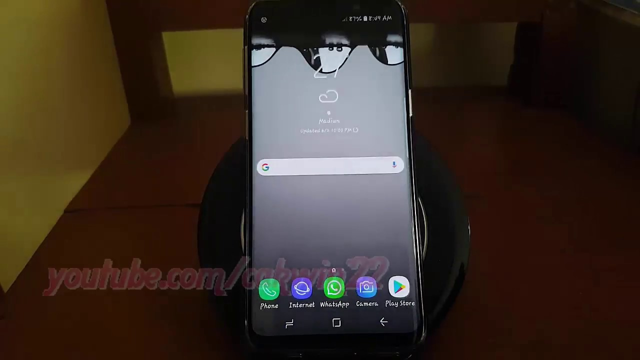 Samsung Galaxy S9 : How to Set default browser app (Android Oreo)
