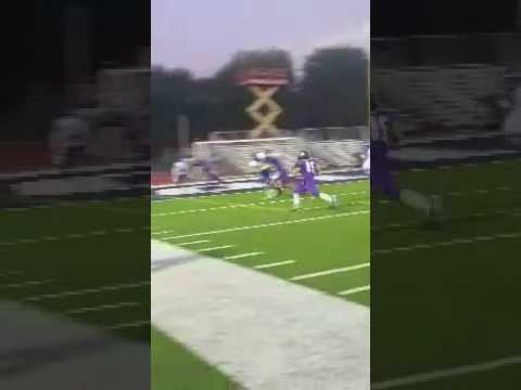 Brian Steele flips into the end zone!!
