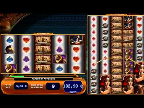 Spartacus slots youtube