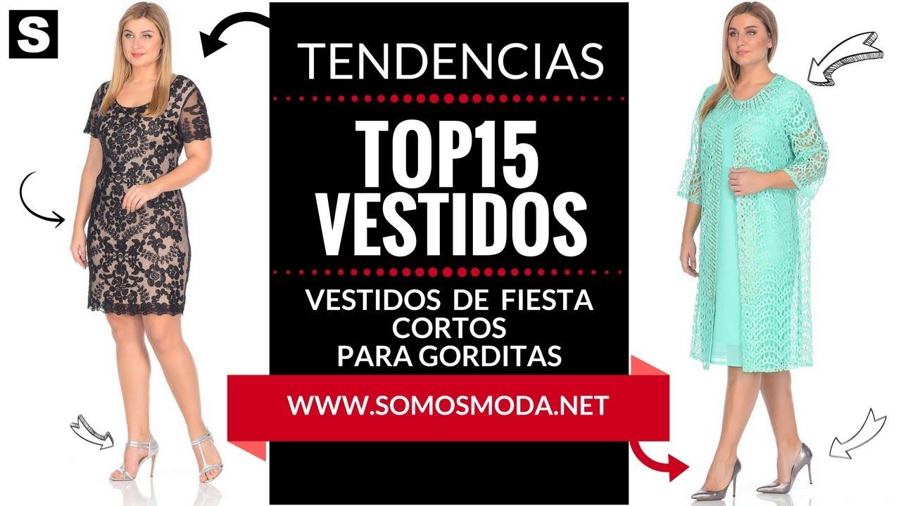 7c8028a6e VESTIDOS DE FIESTA CORTOS PARA GORDITAS 👗 ¡Moda XL! - YouTube