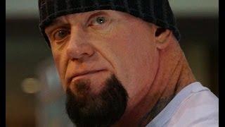 Undertaker on his tattoos