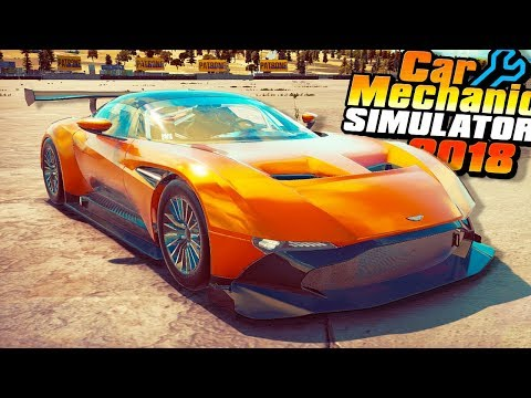 I BOUGHT A $3.5 MILLION ASTON MARTIN VULCAN! - Car Mechanic Simulator 2018