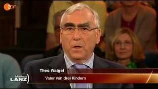 Theo Waigel bei Markus Lanz - Geizkragen (05.06.2012)