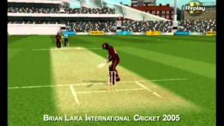 Brian Lara International Cricket 2005 Xbox Gameplay