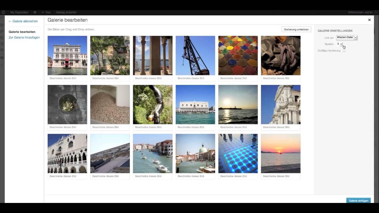 BMo Expo - a WordPress and NextGEN Gallery Exhibition Plugin - Guide ScrollGallery - WP Gallery
