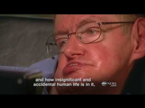 ABC World News with Diane Sawyer:Conversation with Stephen Hawking