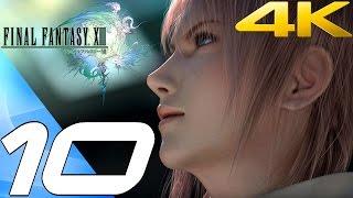 Final Fantasy XIII - Walkthrough Part 10 -  Gapra Whitewood [4K 60FPS]