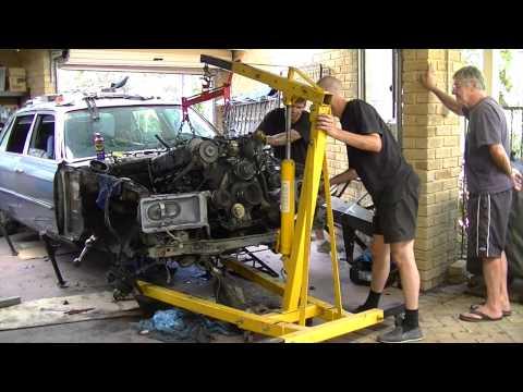 End Of Life - Million Kilometer Mercedes 6.9 - Teardown - Time Lapse