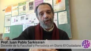 Día del Periodista. Entrevista a Juan P Sarkissian