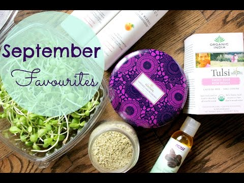 Healthy September Favourites! Tea | Natural Skincare | SuperFoods