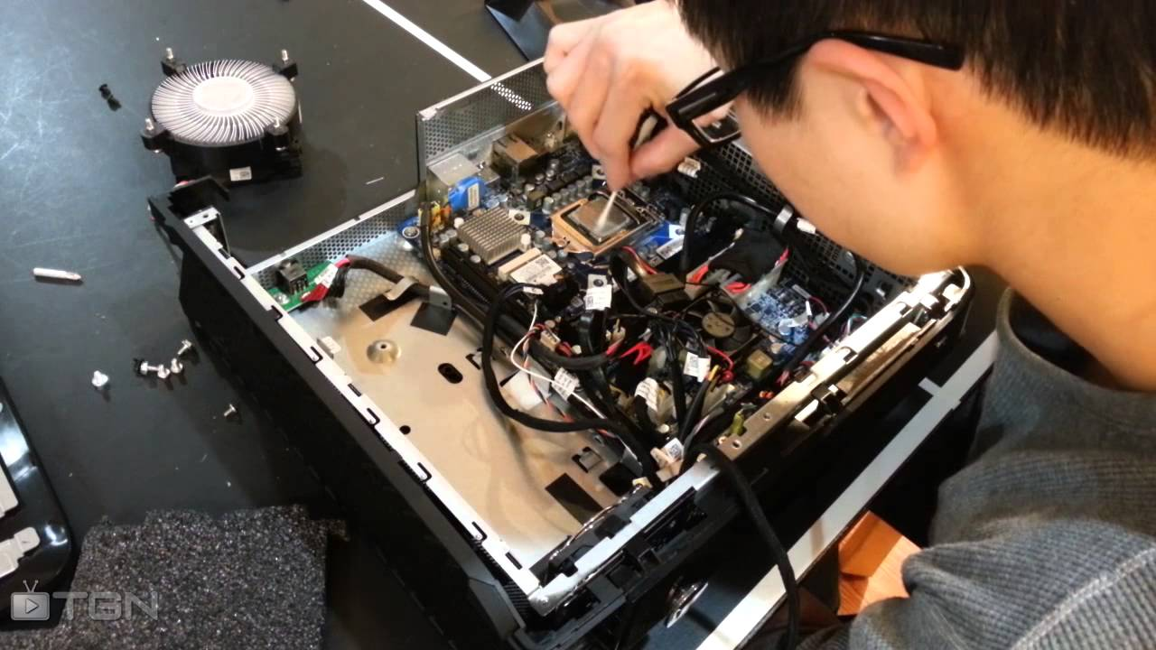 Alienware X51 How To Clean Remove Thermal Paste From