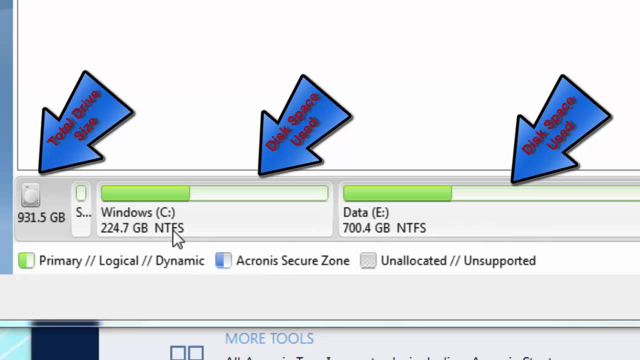How to use Acronis 88