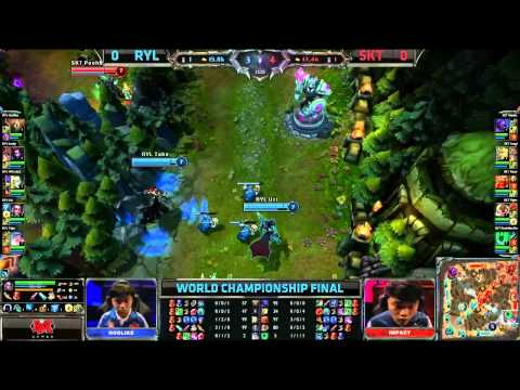 Royal vs SK Telecom T1 Game 1 (S3 World Championship Finals)