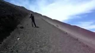 富士山で突風に襲われる thumbnail