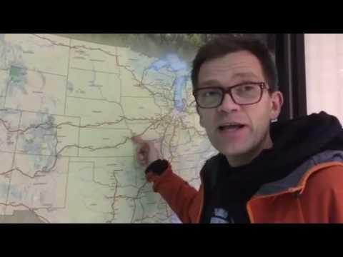 Med Amtrak tvärs över USA