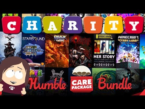 Humble Care Package Bundle || 100% Charity || 27 Games for $30