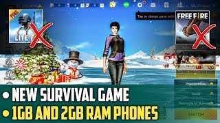 New Survival Game for 1gb and 2gb Ram Phones | Knives Out Game Review