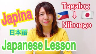 Japanese girl teaching Japanese lesson. Filipino to Nihongo. Vol.1