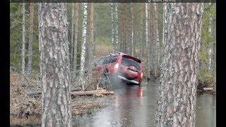 Mitsubishi Pajero 4 and Toyota Land Cruiser 100 offroad, Estonia (Part 1).