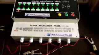 Multichannel Alarm Annunciators