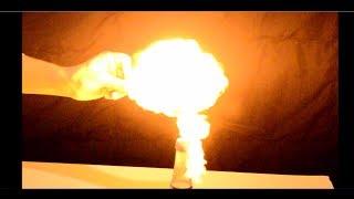 إستخراج غاز الهيدروجين وتفجيره – لم أكن أعلم