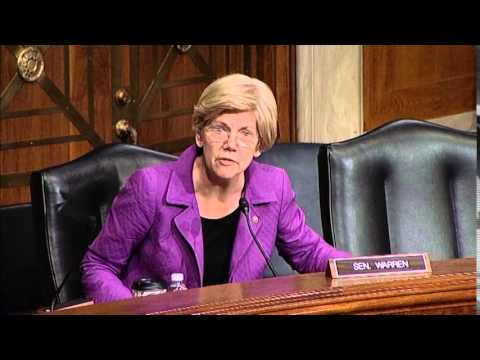 Elizabeth Warren asks about DOL's proposed conflict-of-interest rule for retirement advisers