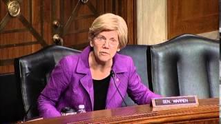 Elizabeth Warren asks about DOL