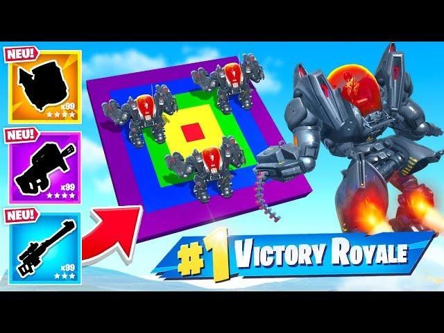 DART DEATHMATCH mit OP ROBOTER in Fortnite!
