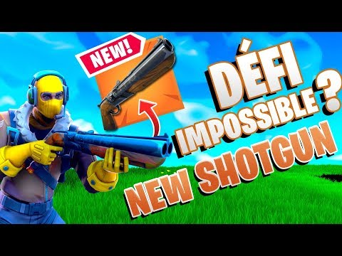 DÉFI IMPOSSIBLE? TOP 1 AU FUSIL A POMPE DOUBLE UNIQUEMENT ! DEFI IMPOSSIBLE ?! Fortnite Saison 5