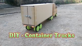 How To Make Container Trucks RC