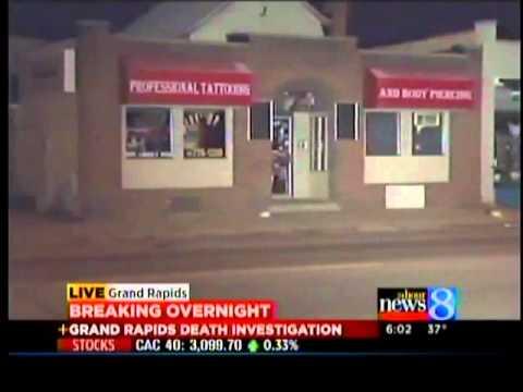 Man dies at tattoo parlor