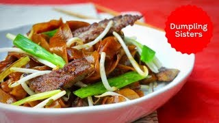 Cantonese Beef Fried Rice Noodles   The Dumpling Sisters