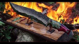 Knife Making Green Dragon part 1