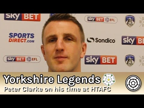 Yorkshire Legends Interview: Peter Clarke on his time at Huddersfield Town