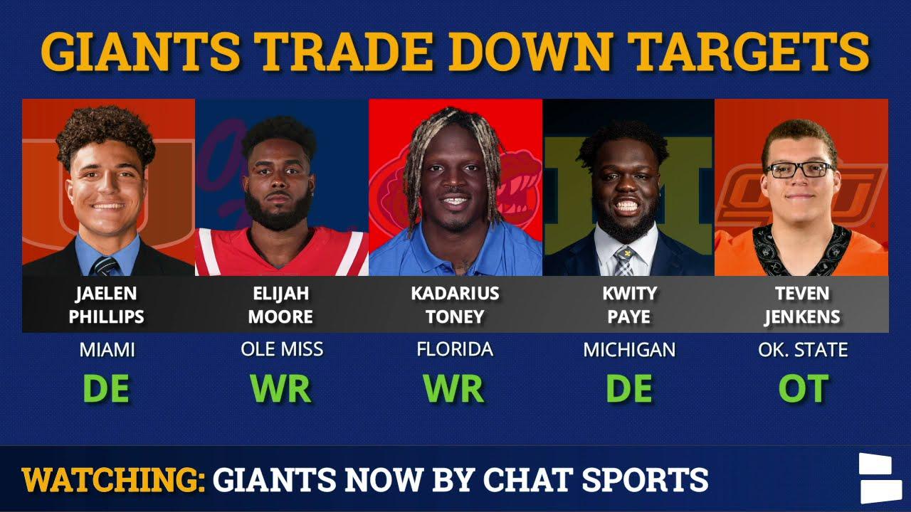 Experts react to Giants' trade, Kadarius Toney pick